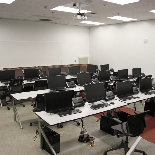 Room of public computers