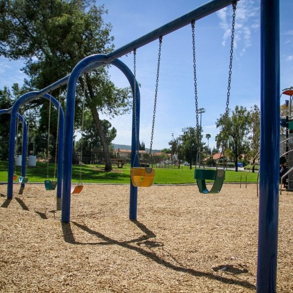 A Picture of Rowland Heights Swing Set