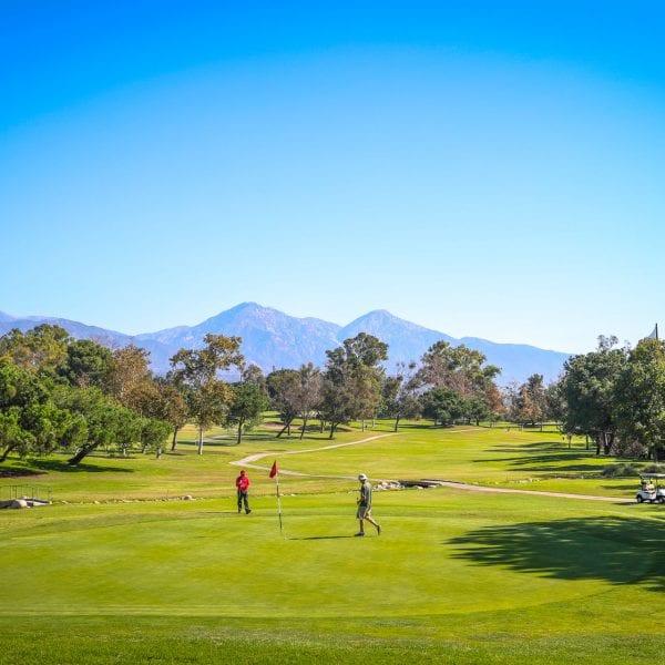 Panorama Shot of Mountain Meadows Golf Course