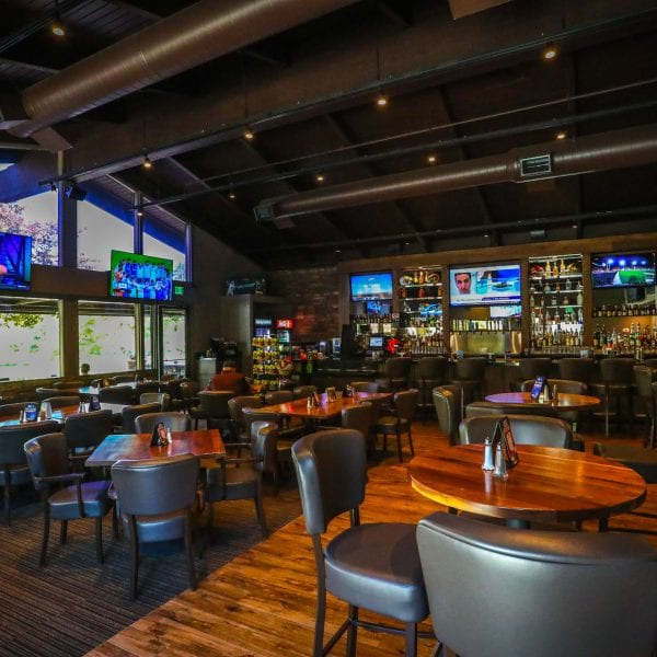 Bar and grill at Mountain Meadows Golf Course