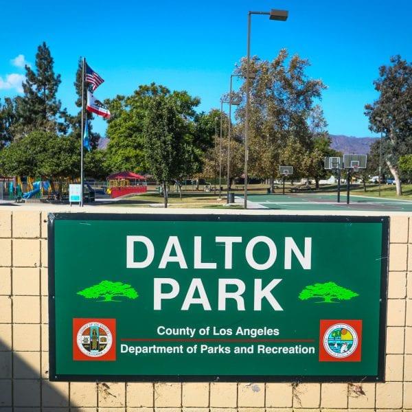 Dalton Park sign