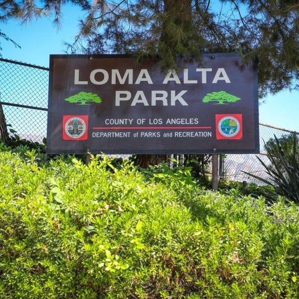 Loma Alta sign