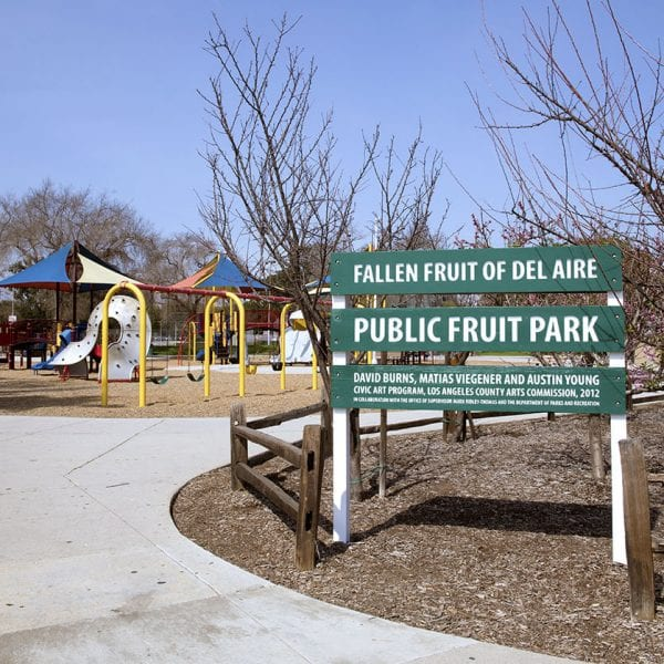 Del Aire Park fruit garden and playground