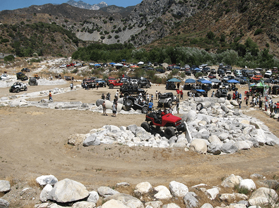 A picture of OHV after they cut the ribbon for the grand opening.