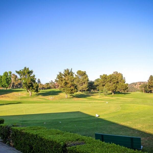 Golfing green