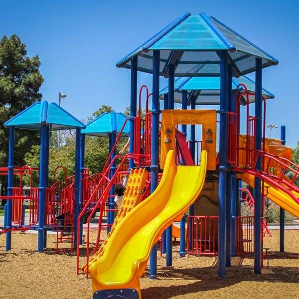 Playground structures