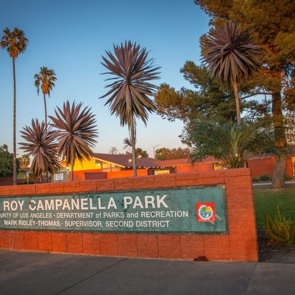 Roy Campanella Park sign
