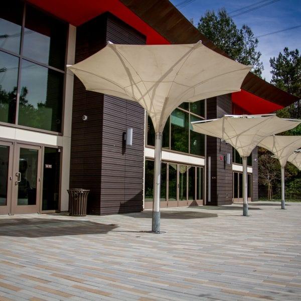 Modern facility
