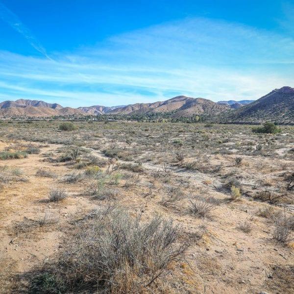 Desert with hills