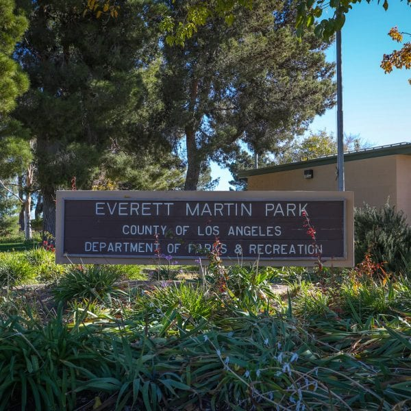 Everett Martin Park Sign