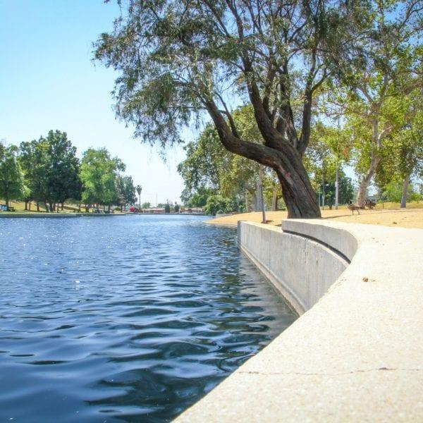 Edge of the lake