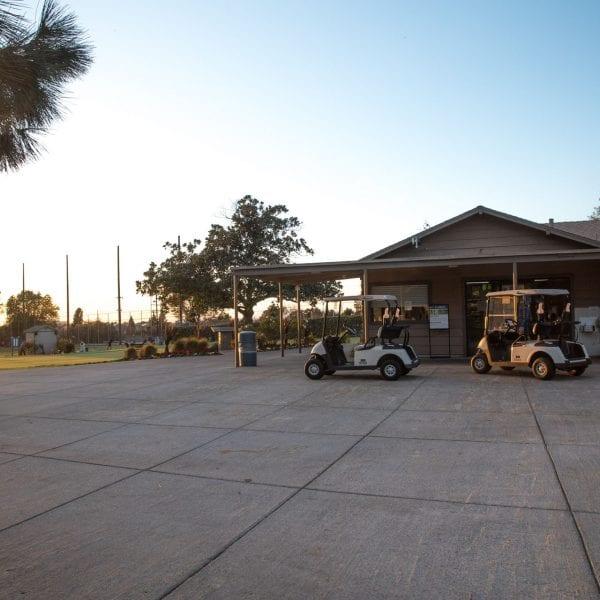 Chester Washington Golf Course pro shop entrance