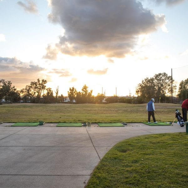 Chester Washington Golf Course driving range