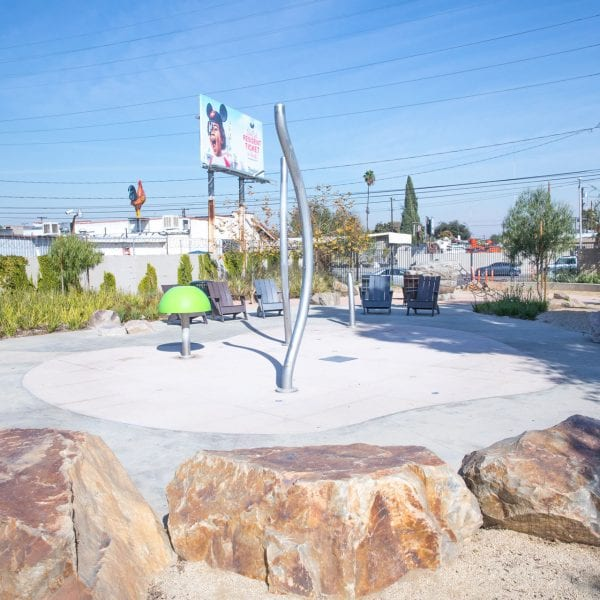 Washington Avenue Park splash pad