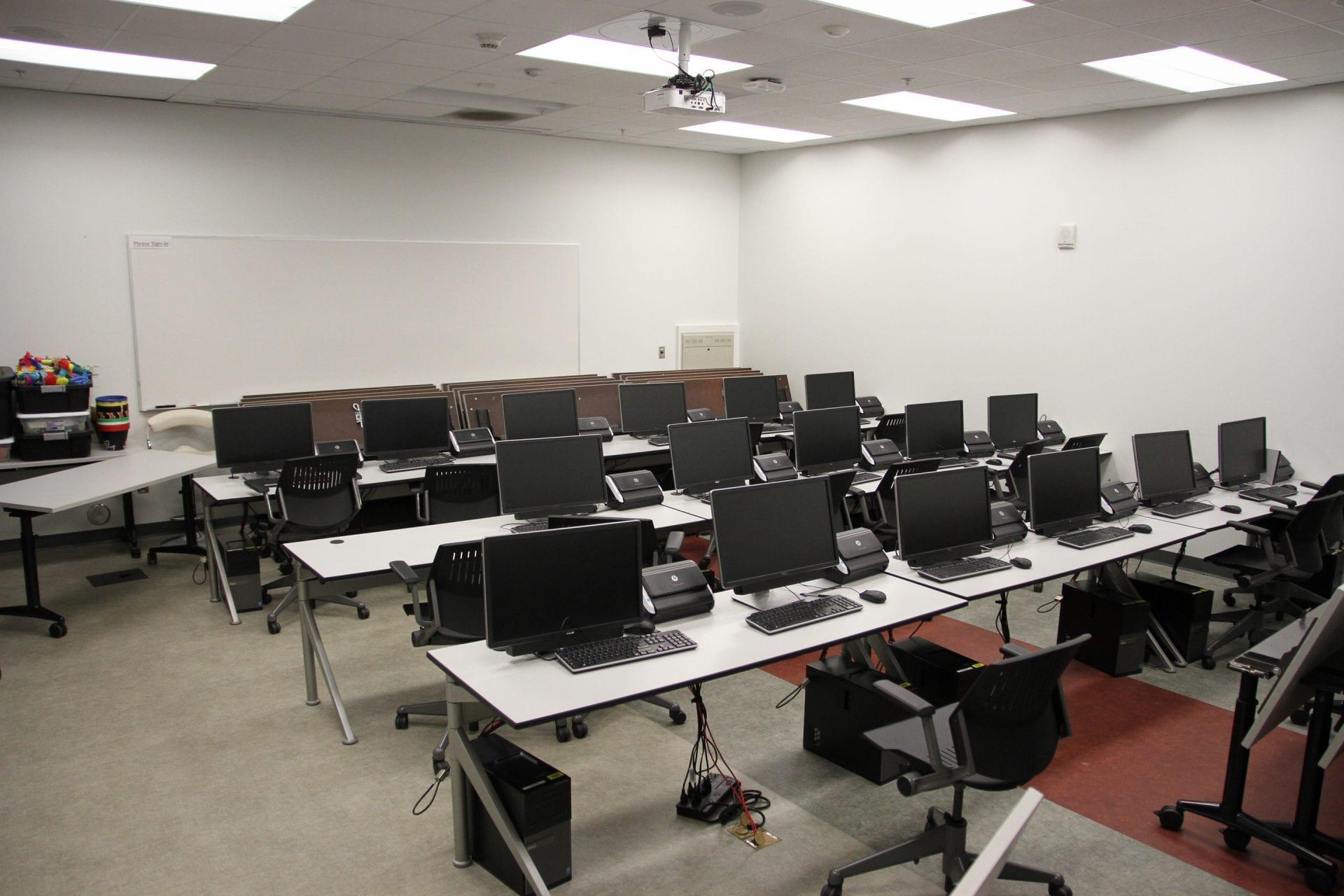 Room of public computers