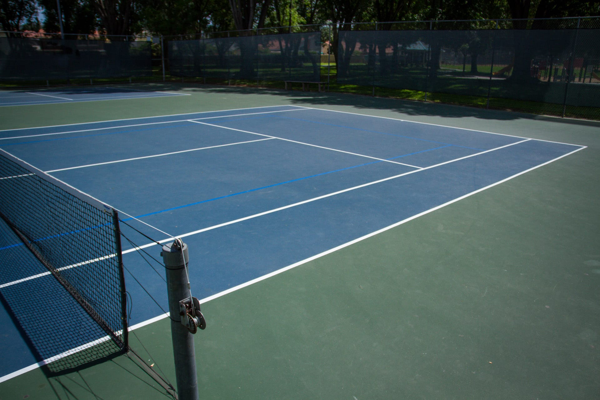 A picture of Rowland Heights Tennis Courts
