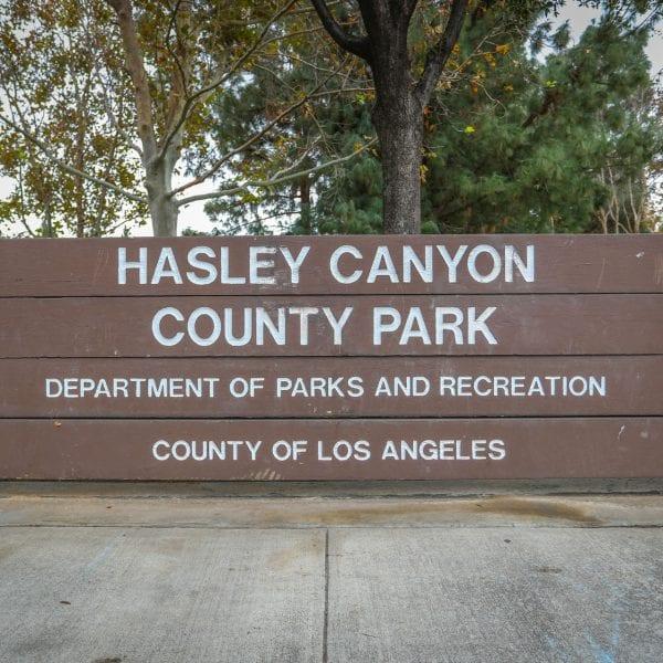Halsey Canyon sign