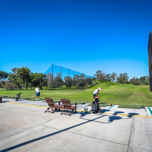 Picture of the shooting range at Mountain Meadows Golf Course