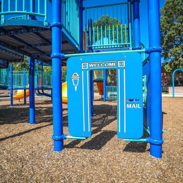 Playground doorway