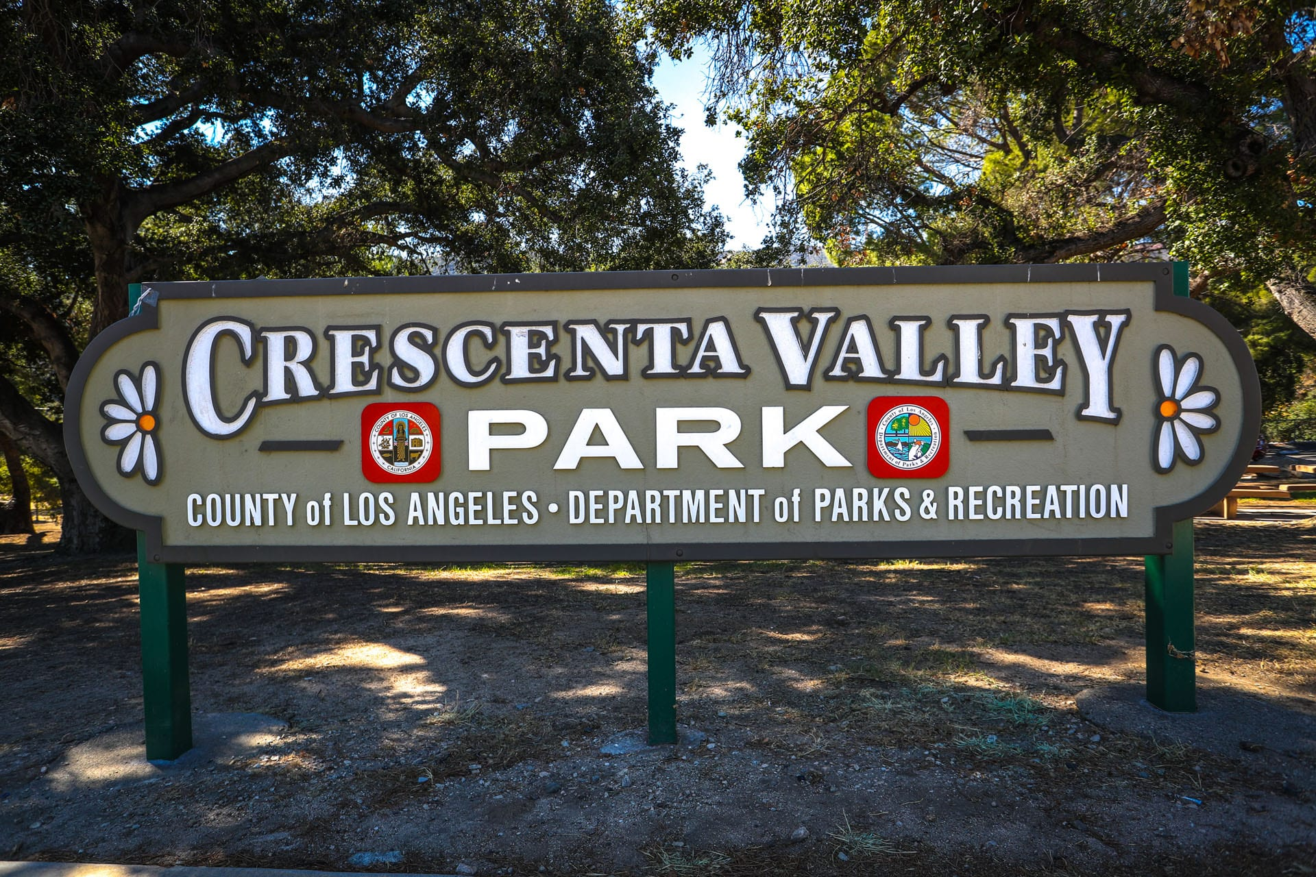 Crescenta Valley Park sign