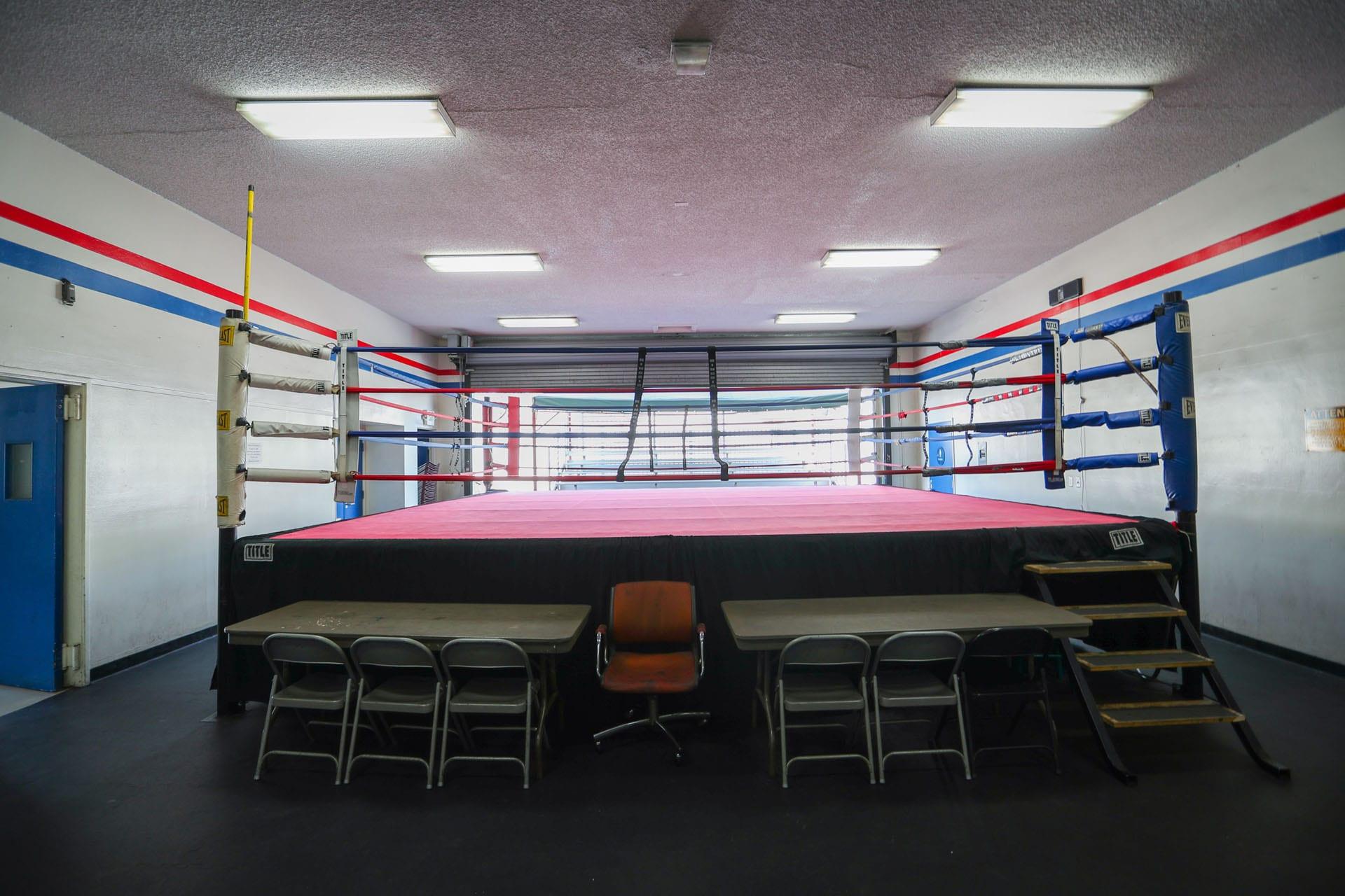 Boxing ring 4
