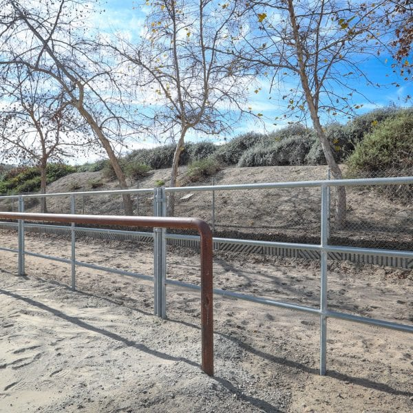 A picture of 72nd Street Equestrian Park rails