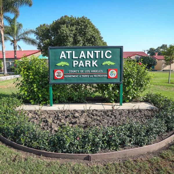 Atlantic Park sign