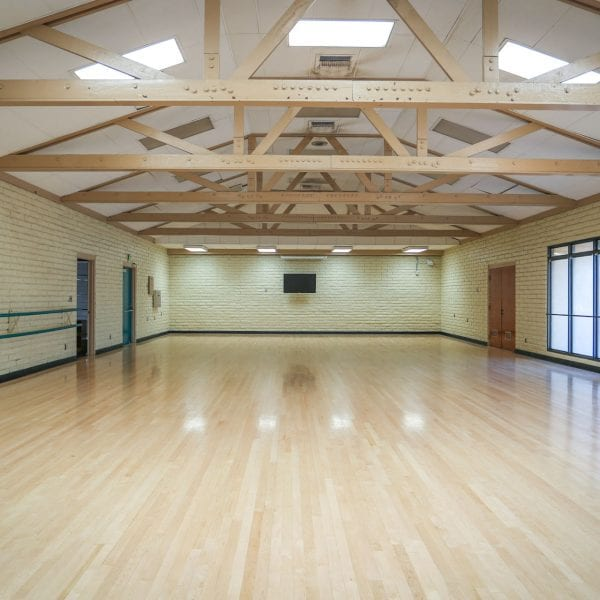Large multipurpose room