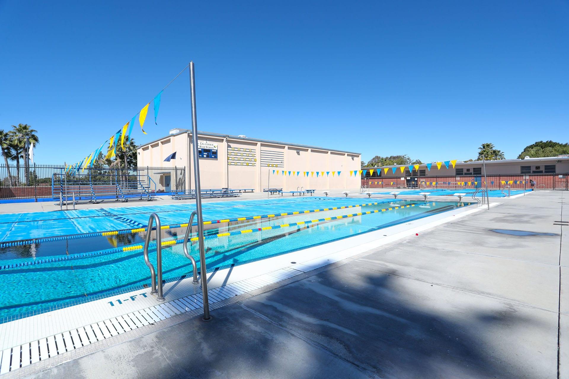 Facility at the pool