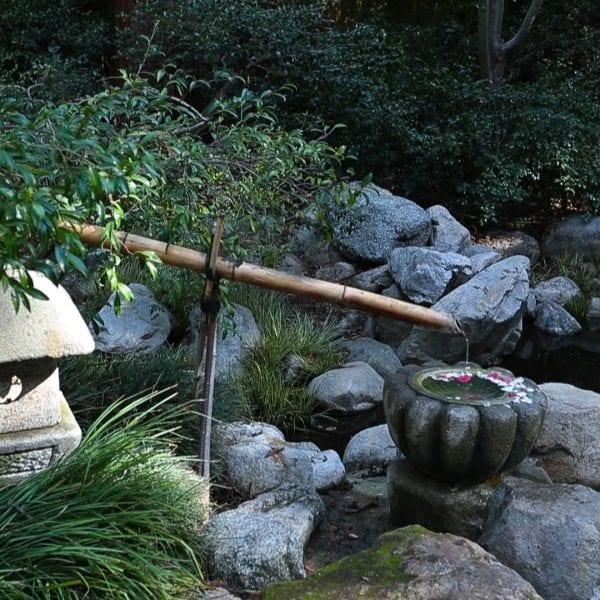 Asian water fountain