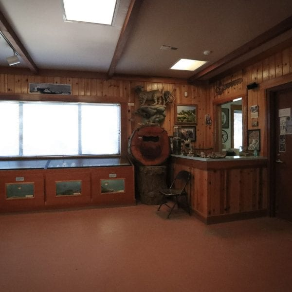 Inside the visitor center 2