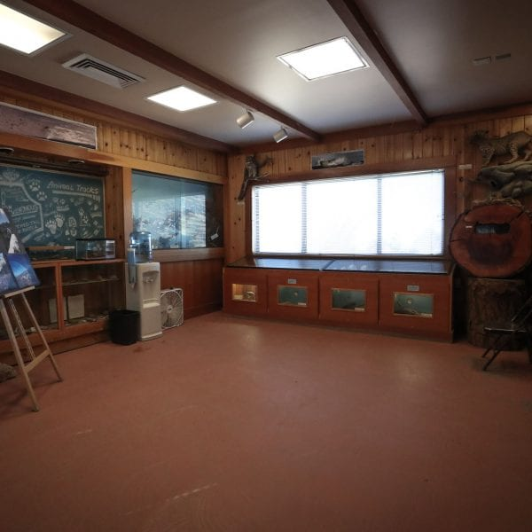 Inside the visitor center 1