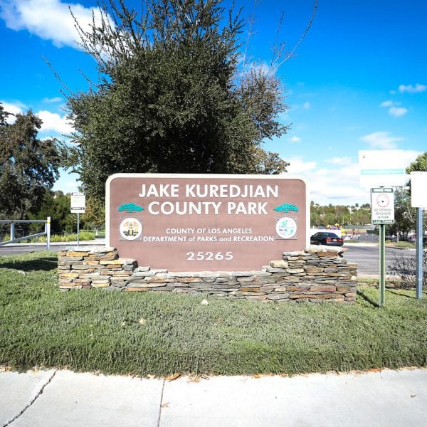 Jake Kuredjian Park sign