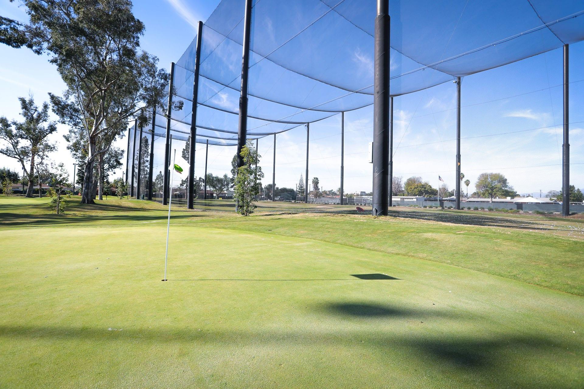 Golf court net