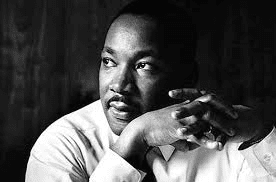 A picture of Martin Luther King Junior.