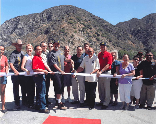 A picture of the OHV grand opening.