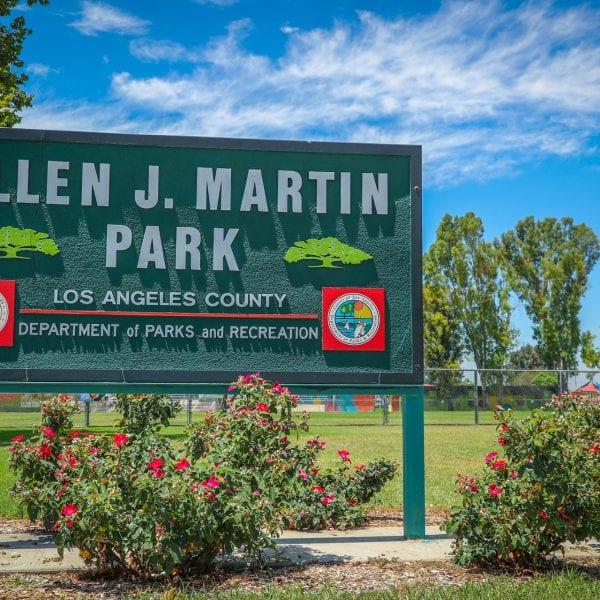 Allen J. Martin Park sign