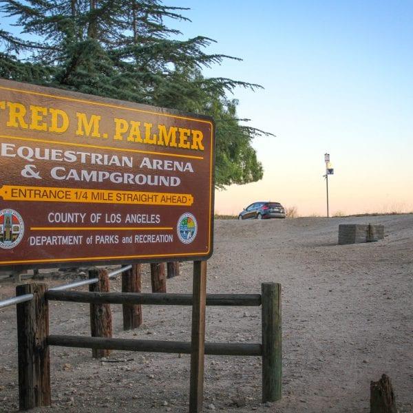 Marshall Canyon Park sign