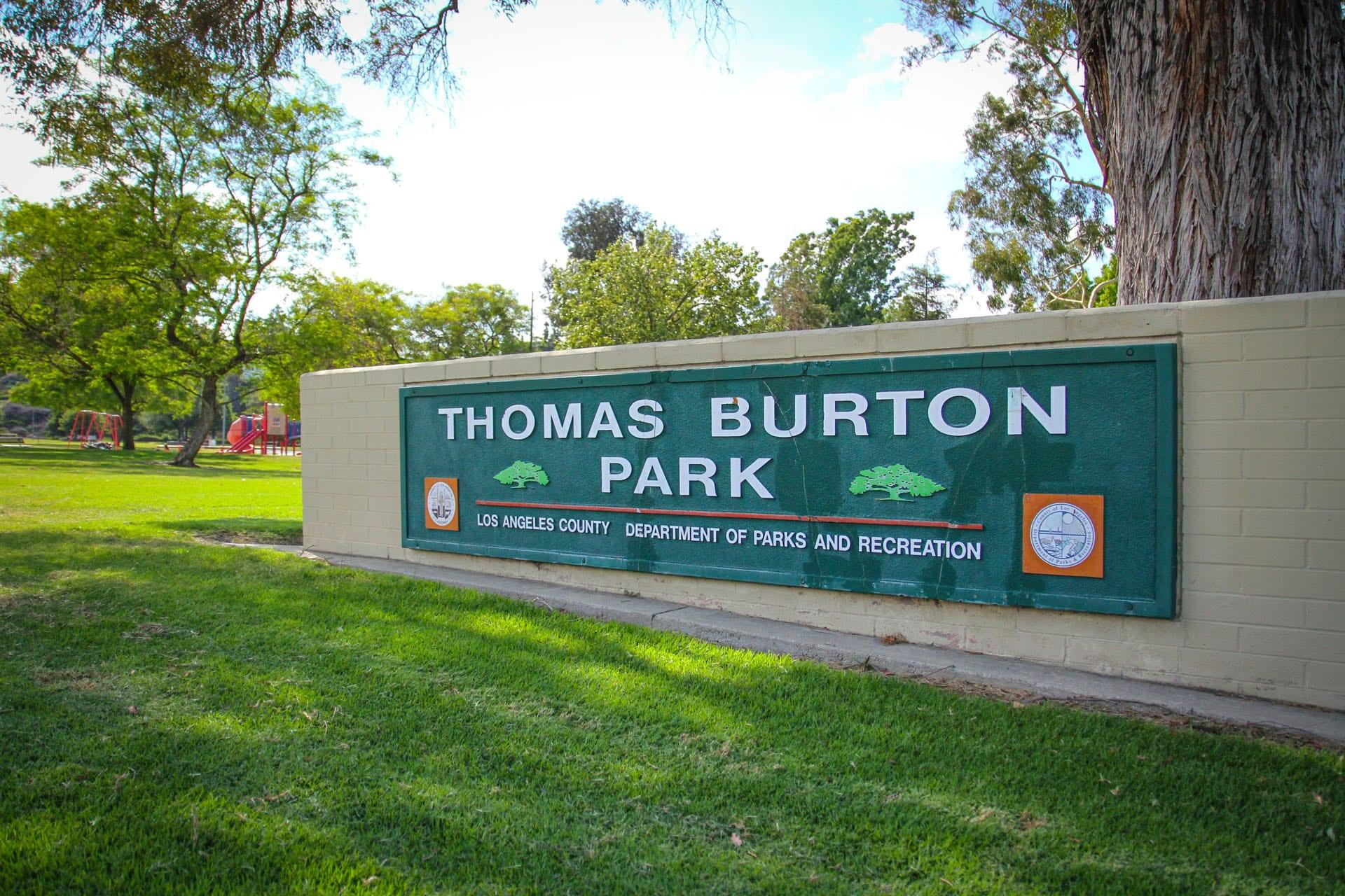 Thomas Burton Sign