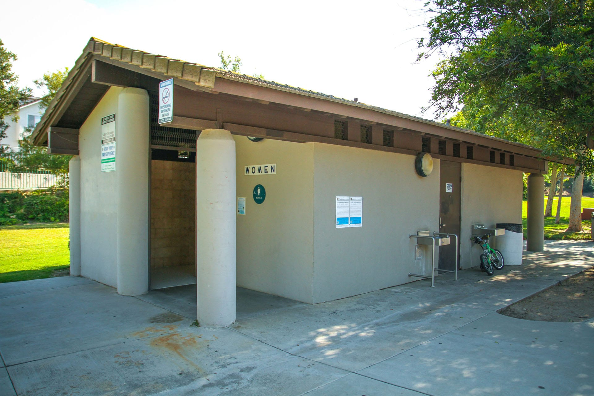 Restroom facility