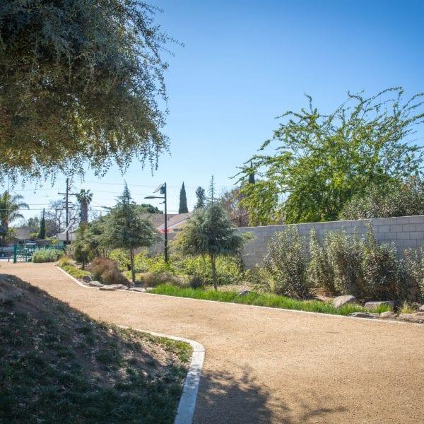 Garden trail