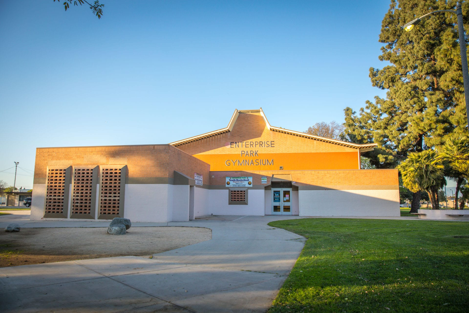 Enterprise Park Gymnasium building