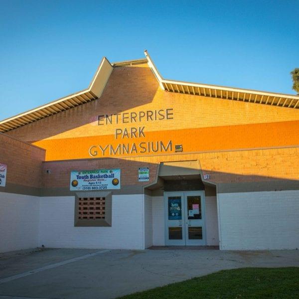 Enterprise Park Gymnasium entrance