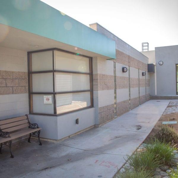 Building side area