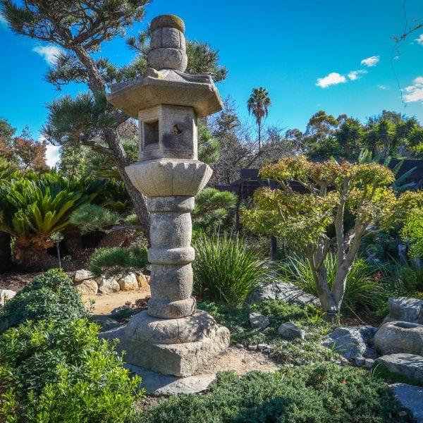 Garden decoration in a garden