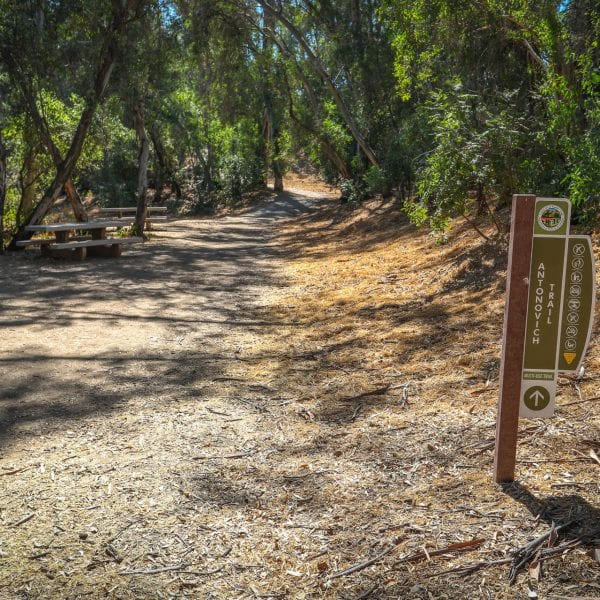 Antonovich Trail trailhead