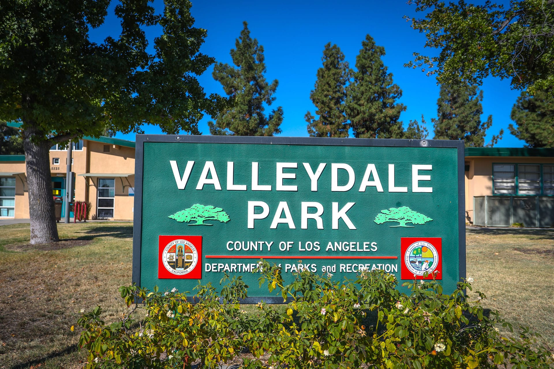 Valleydale Park sign
