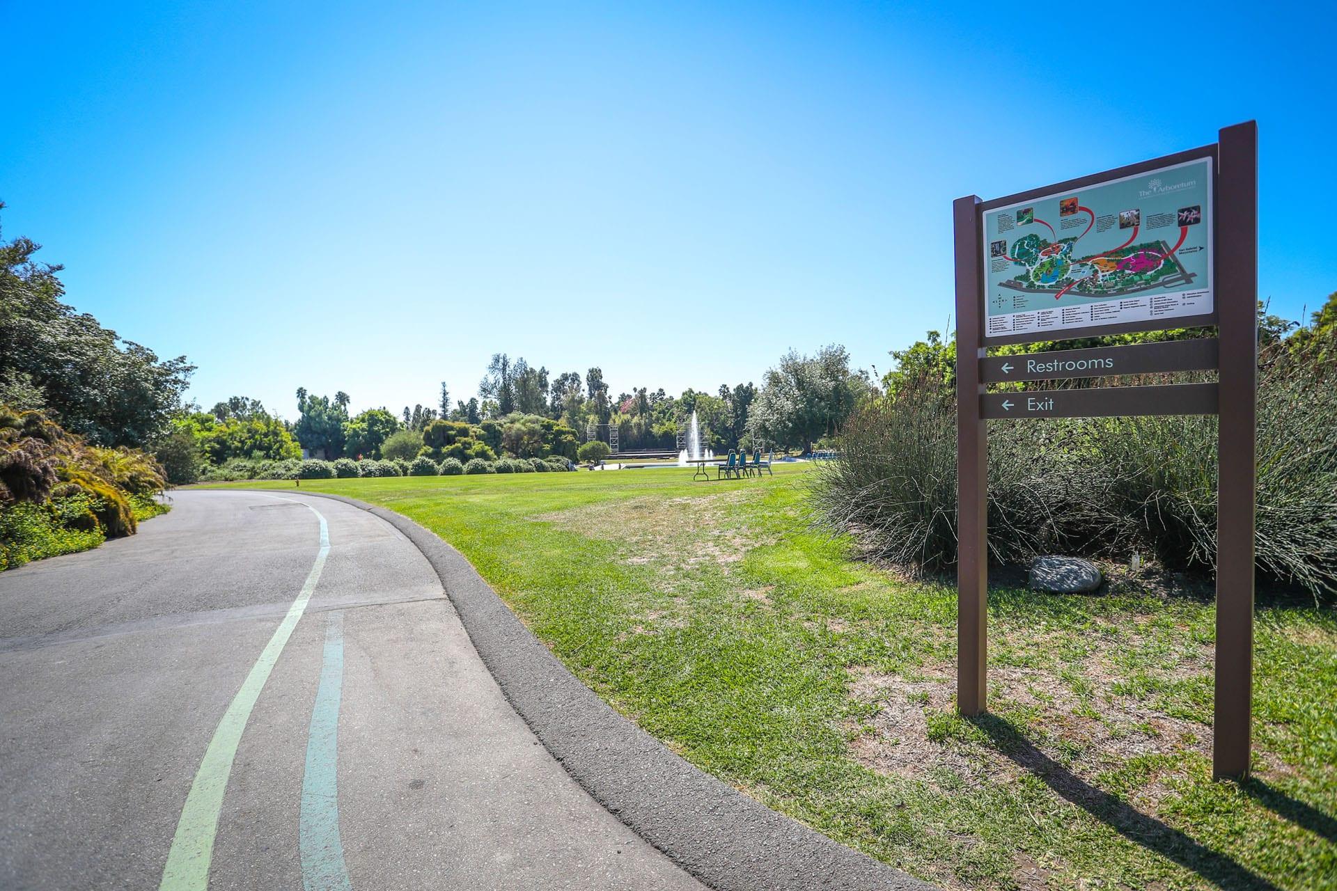 Golf cart path