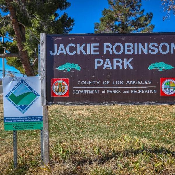 Jackie Robinson Park Sign