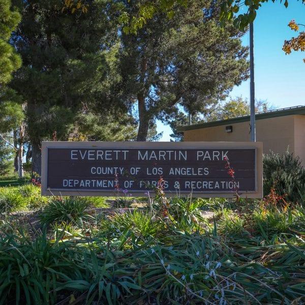 Everett Martin Park Sign